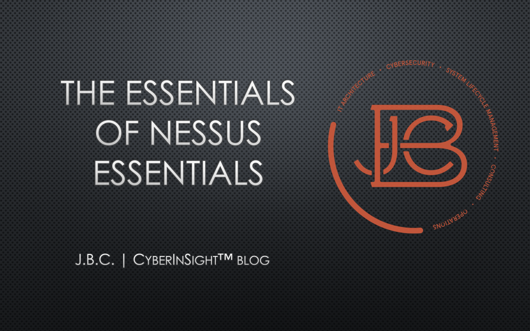 The Essentials of Nessus Essentials