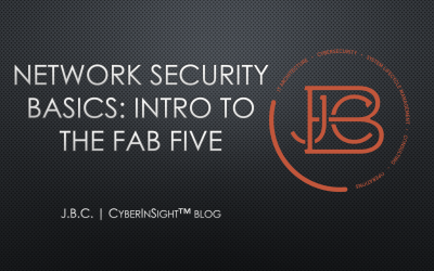 Network Security Basics: Intro to the Fab Five