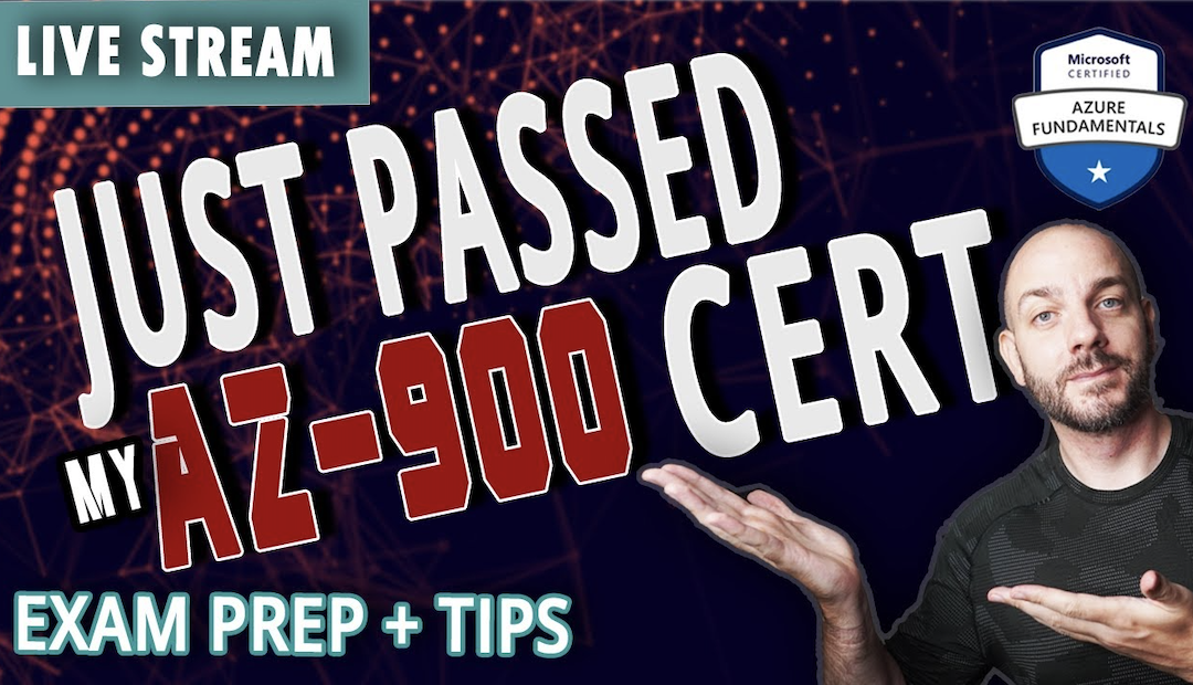 How I Passed Azure Fundamentals |  AZ-900 PRACTICE TEST, PREP, & TIPS