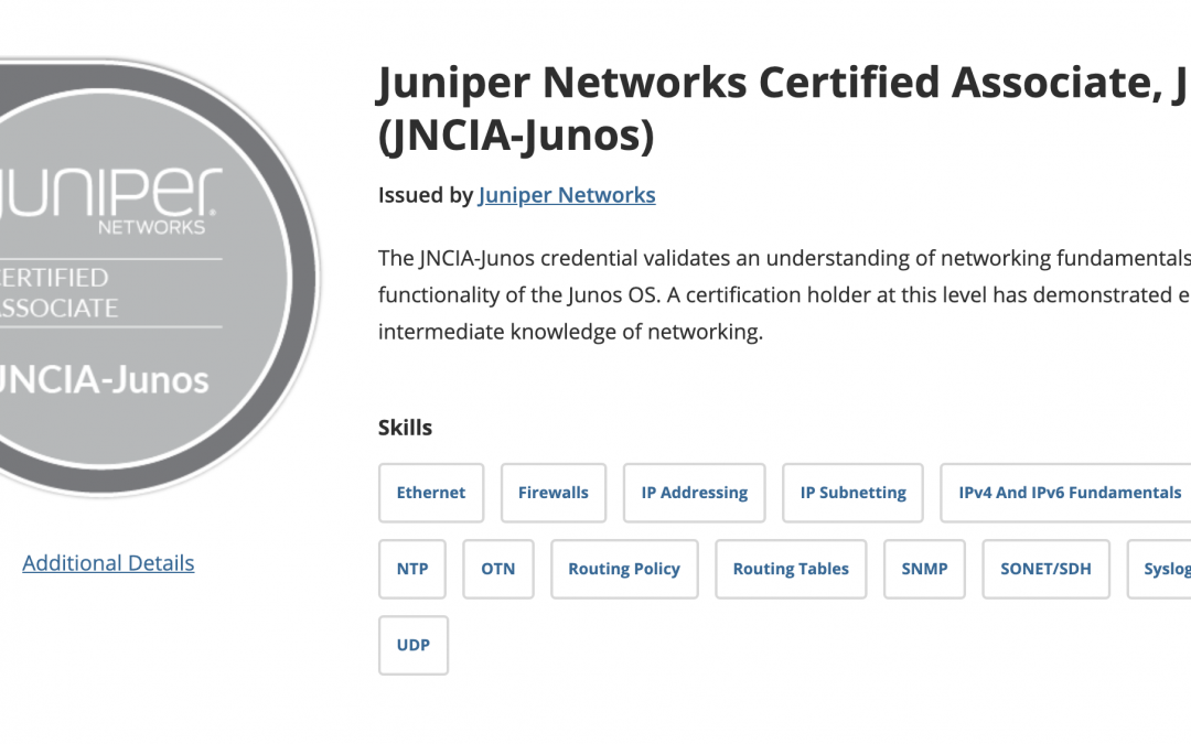 How I Passed the Juniper JNCIA-JUNOS Exam | JNCIA JUNOS Review and Study Tips