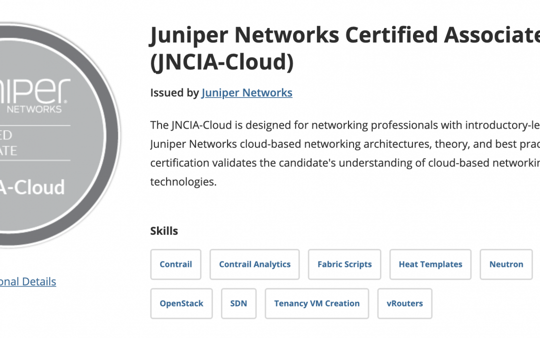 How I Passed the Juniper JNCIA-Cloud Exam | JNCIA-Cloud Review and Study Tips