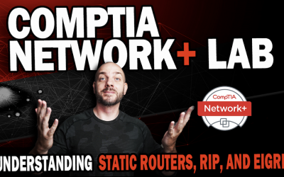 CompTIA Network+ Study Lab #8   Understanding Static Routes, RIP and EIGRP