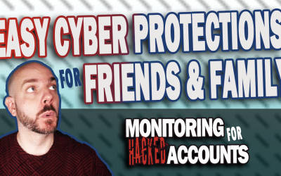 Easy Cyber Protections With Google Alerts | Monitoring for Hacked Accounts