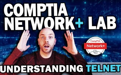 CompTIA Network+ Study Lab #3 | Understanding Telnet with Cisco Packet Tracer