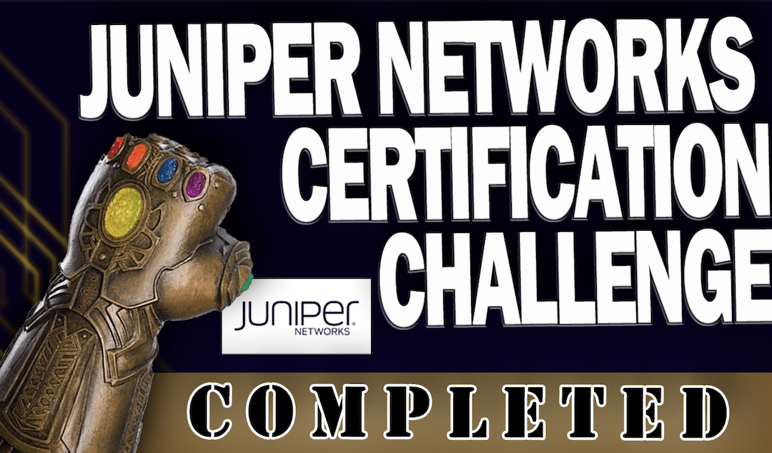How I Passed All 6 Juniper Networks JNCIA Certs