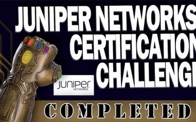 How I Passed All 6 Juniper Networks JNCIA Certs