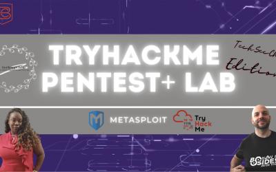 How To Hack With Metasploit | TryHackMe Pentest+ Lab