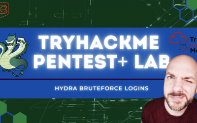 How to Use Hydra for Password and Credential Pentesting | TryHackMe Pentest+ Lab