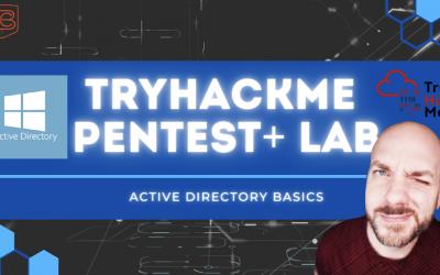 How To Hack Windows Active Directory  | TryHackMe Pentest+ Windows Lab