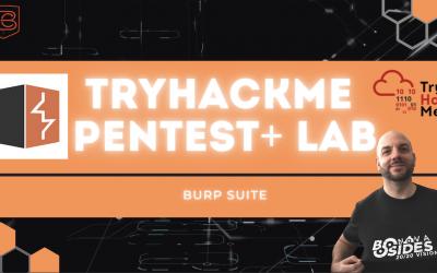 How To Hack With Burp Suite | TryHackMe Pentest+ Web Pentesting Lab