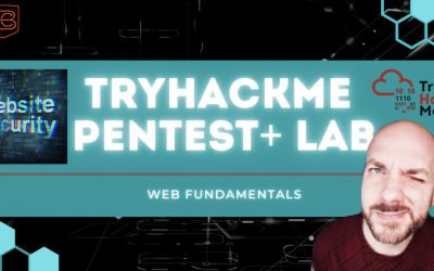 Web Security Fundamentals | TryHackMe Pentest+ Web Basics Lab